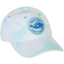 Chubby Mermaids Womens Sea Glass Tie Dye Hat
