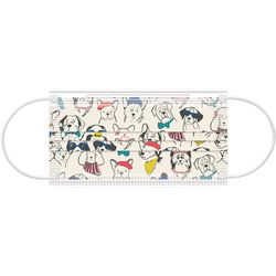 Punch Studio 10-pc. Sketched Dogs Disposable Face Masks