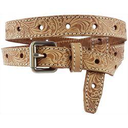 Bay Studio Womens Embossed Perforated Belt