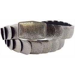 Bay Studio Womens Textured Metal Belt