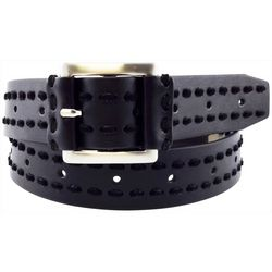 Bay Studio Womens Interwoven Laces Belt