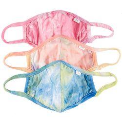 Fairhaven 3-Pk. Tie Dye Reusable Face Mask Set
