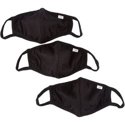 Fairhaven 3-Pc  Solid Reusable Face Masks