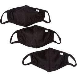 3-Pc  Solid Reusable Face Masks