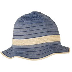 Twing And Arrow Womens Denim Bucket Hat