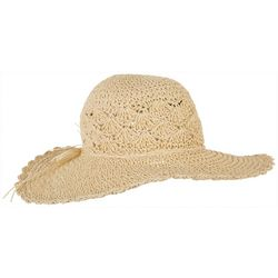 Womens Crochet Floppy Sun Hat