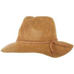 Womens Knit Panama Hat