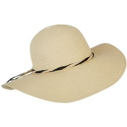 Womens Twist String Floppy Sun Hat