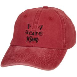 Madd Hatter Womens Washed Cat Mom Cap
