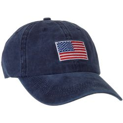 Mad Hatter Womens Washed Flag Cap