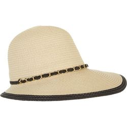 Mad Hatter Womens Woven Chain Links Hat