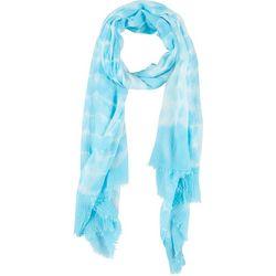 Womens Tie Dye Print Wrap