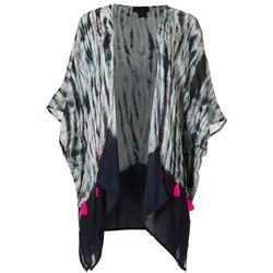 Cejon Accessories Women Tie Dye Kimono