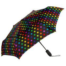 Shedrain Vented Automatic Tina Polka Dot Umbrella