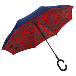 Shedrain Floral Reversible Umbrella