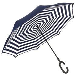Shedrain Striped Reversible Umbrella