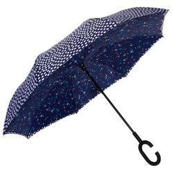 ShedRain UnbelievaBrella Polka Dot & Stars Reverse Umbrella