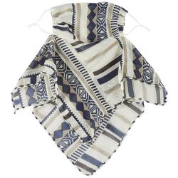 Save The Girls Womens South West Print 2 in 1 Facemask Scarf