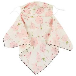 Womens Ditsy Floral 2 in 1 Facemask Scarf