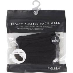 3-Pk. Solid Face Mask Set