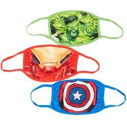 Marvel Boys 3-pk. Novelty Face Masks