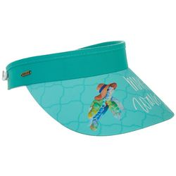 Sun N' Sand Womens Make Waves Coil Back Visor