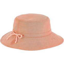 Sun N' Sand Womens Cotton Drawstring Hat