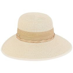 Sun N' Sand Womens Suede Twist Hat