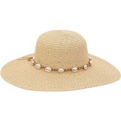 Sun N' Sand Womens Solid Shell Sun Hat