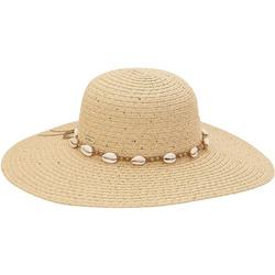 Womens Solid Shell Sun Hat