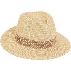 Sun N' Sand Womens Ribbon Banded Safari Sun Hat