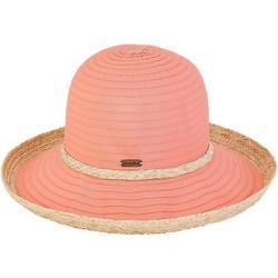 Womens Akira Upbrim Ribbon Hat