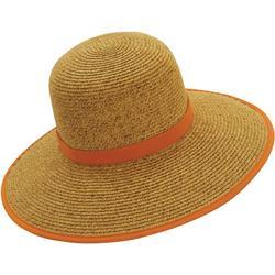 Womens Braided Backless Sun Hat