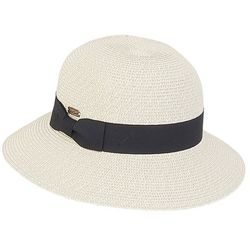 Sun N' Sand Womens Ribbon Brim Sun Hat