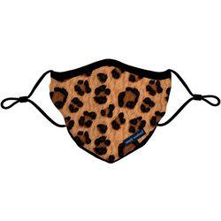 Leopard Print Reusable Face Mask Adult