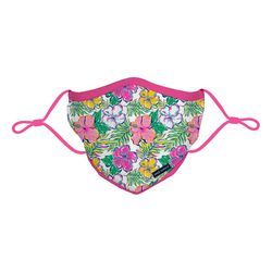 Tropical Floral Reusable Face Mask Youth