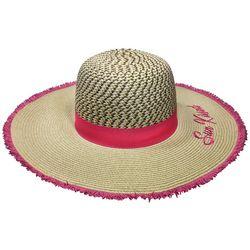 Awayalife Womens Sun Kissed Straw Hat