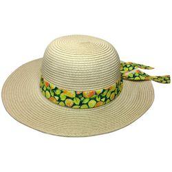 Awayalife Womens Cirus Fruit Band Straw Hat