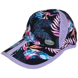 Womens Tropical Printed Mesh Cap