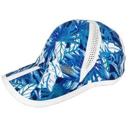 Womens Leaf Printed Mesh Cap