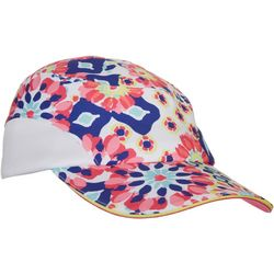 Lillie Green Womens Muted Geo Print Hat