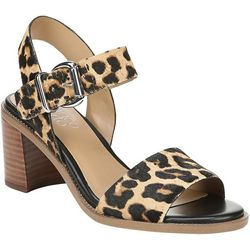 Franco Sarto Womens Havana Leopard Dress Sandals