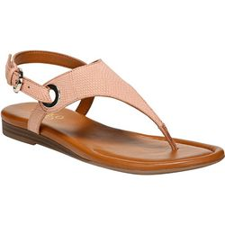 Franco Sarto Womens Grop Thong Leather Sandals