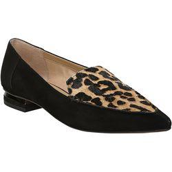 Franco Sarto Womens Starland Leopard Loafer