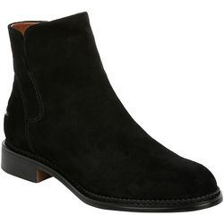 Franco Sarto Womens Happily Suede Ankle Boots