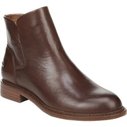 Franco Sarto Womens Happily Leather Ankle Boots