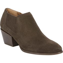 Franco Sarto Womens Dylann Suede Ankle Booties