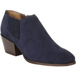 Womens Dylann Suede Ankle Booties