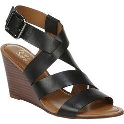 Franco Sarto Womens Yara Wedge Sandals
