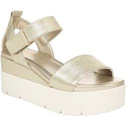 Franco Sarto Womens Vanjie Platform Sandals